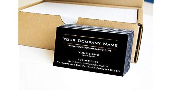 Amazon Simple Custom Premium Business Cards 500 Full Color