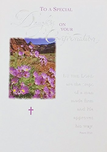 Every Spiritual Blessing - To A Special Daughter On Your Confirmation Greeting Card