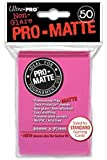 Ultra Pro SLEEVES Pro-Matte D12 Card Game (Bright Pink)