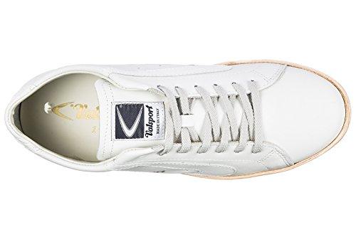 Valsport 1920 Herenschoenen Heren Leren Schoenen Sneakers Wit
