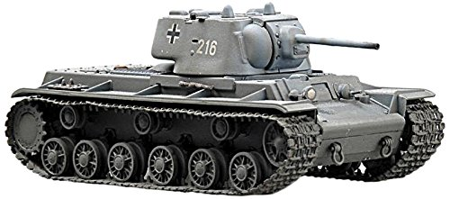 [Easy Model KV-1E Heavy Tank German Army Die Cast Military Land Vehicles] (German Army Tank)