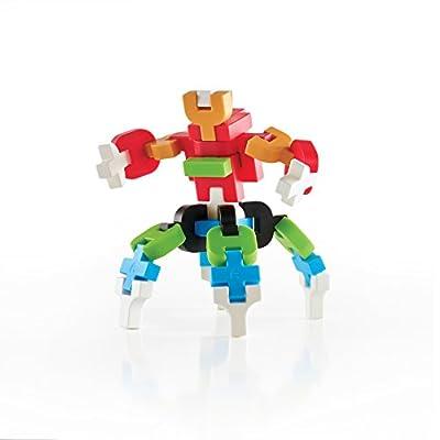 Guidecraft IO Blocks Digital Puzzle Building STEM Educational Construction Toy 76 - Piece Set: Toys & Games