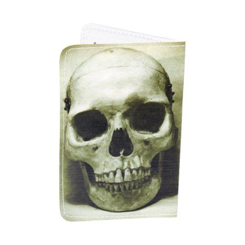 Green Skull Business, Credit & ID Card Holder