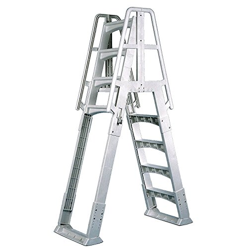Vinyl Works Slide-Lock A-Frame Above Ground Pool Ladder