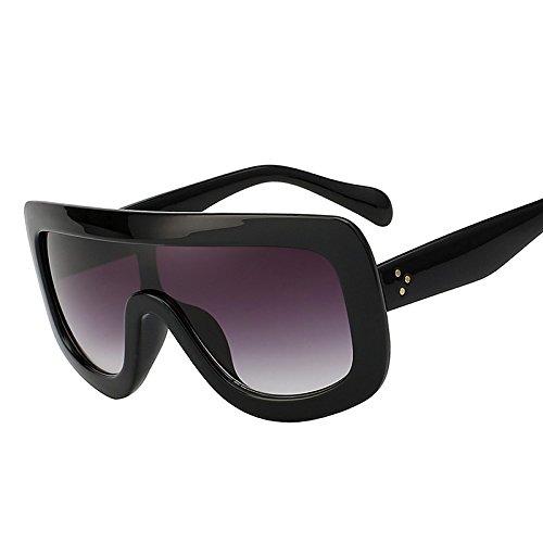 074acd820c TIANLIANG04 Gafas de sol de estilo vintage, grandes gafas de sol,  cuadradas, para