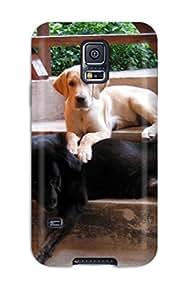 ByA-4694KuZkAZBX Case Cover Dog Galaxy S5 Protective Case