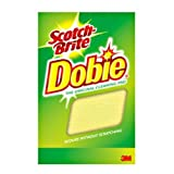 "Scotch-Brite Dobie All Purpose Cleaning Pad 720, 4.3"" Length x 2.6"" Width x 1/2"" Thick, (Case of 24)"