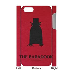 Cheap 3D iPhone 4,4G,4S Case, The baba dook quote New Fashion Phone Case