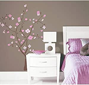 Room Mates RMK1555GM Spring Blossom Peel & Stick Giant Wall Stickers
