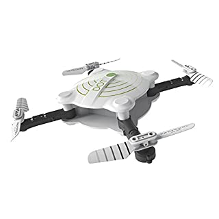 Protocol DOT VR Wifi Drone with Camera | Folding Drone with WIFI Wi-Fi Capability | Control by free smartphone app or from control unit | Auto Launch, hover, and land with altitude sensor |Spare Parts
