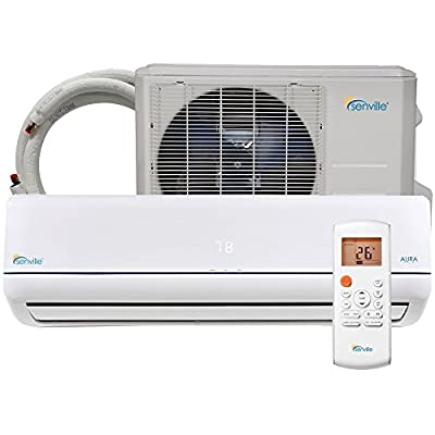 Senville SENA-24HF-Z 24000 BTU 20 SEER Split Air Conditioner and Heat Pump, Mini