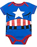 Marvel-Baby-Boys-5-Pack-Bodysuits-The-Hulk-Spiderman-Iron-Man-and-Captain-America