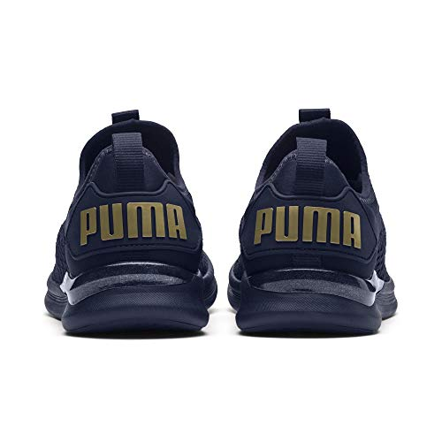 Puma Flash Varsity WN's Peacoat Ignite Damen Gold Laufschuhe metallic UxawrEUq