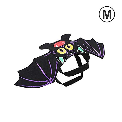 Demon Costumes Wings And Chest - Heitaisi Halloween Funny Dog Cat Clothes