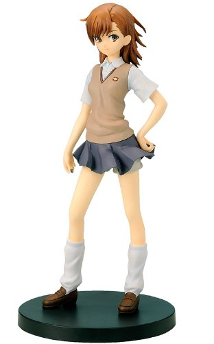 Misaka Mikoto & Little Sister Set Standard Edition (1/8 scale PVC figure) [JAPAN] by Penguin Parade
