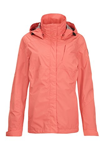 Women's Hood Functional Detachable with Jacket Killtec Lalina Coral dxfYwqdFE