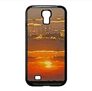 Sun In The Sky 3 Watercolor style Cover Samsung Galaxy S4 I9500 Case (Sun & Sky Watercolor style Cover Samsung Galaxy S4 I9500 Case)
