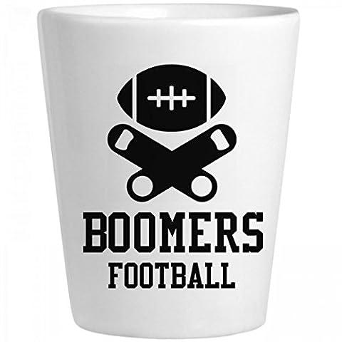 Boomers Football Fan: Ceramic Shot Glass - Boomer Football