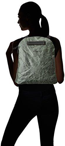 Skunkfunk Mene, Bolso Mochila para Mujer, 5x35x32 cm (W x H x L) Verde (Grey Green)
