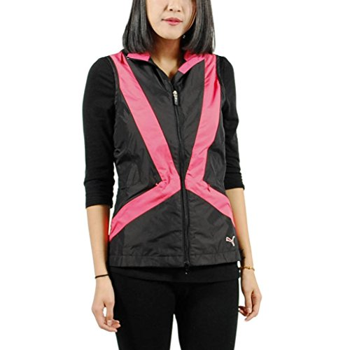 Puma Women's Golf Wind Vest M Black