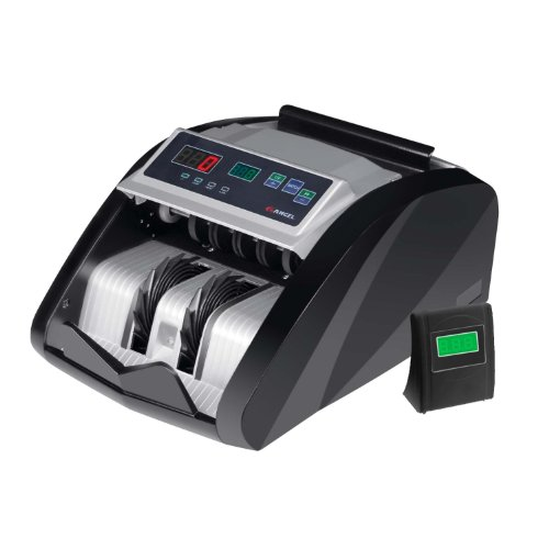 ANGEL POS BC-1210 Bill Counter with External Counter Display, UV Counterfeit Detection (Angels Postcard)