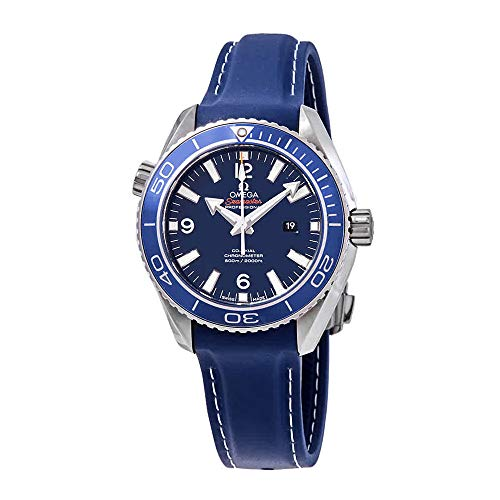 Omega Planet Ocean Co-Axial Blue Dial Mid-Size Titanium Watch 232.92.38.20.03.001