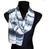 Small gift for men, Men scarf gray, Mens carf, Grey scarf for men, Men gifts scarf, Gift for husband, Scarf gift for men, Husband scarf