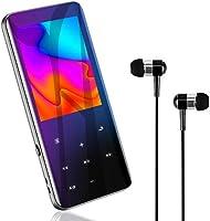 MP3プレーヤー 『高速5.0 · 高級3D曲面』 Bluetooth5.0 MP3プレーヤー 音楽プレーヤー HIFI超高音質 2.4インチHD大画面/3D曲面 16GB内蔵 128GBまで拡張可能 スピーカー内臓 SDカード対応 超軽量...