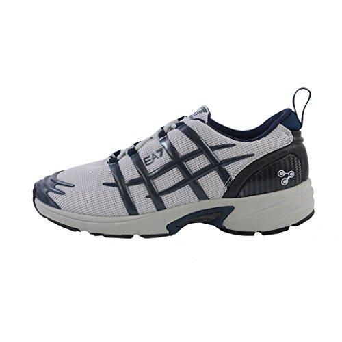 Emporio Armani Carbon Kussen Controle Atletische Sneakers Schoenen Meerkleurig