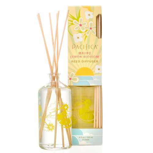 人気の Pacifica 4オンスReed Diffuser Pacifica 52043 Malibu B004Y18HXS Lemon Blossom 4オンスReed B004Y18HXS, 神林村:87e43265 --- martinemoeykens.com