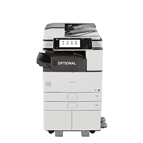 Ricoh MP 3353 Ledger/Tabloid-size Mono Laser Multifunction Copier - 33ppm, Copy, Print, Scan, 2 Trays and Stand