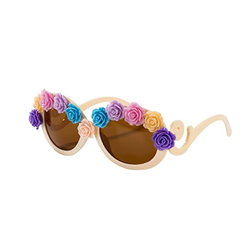 Talking Tables Truly Scrumptious Floral Flower Sunglasses for a Summer Party or - Manufacturers Sunglass Us