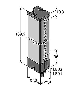 3002671 - lx6esr, Opto sensor desechable Barrera de luz (Transmisor) emisor: Amazon.es: Industria, empresas y ciencia