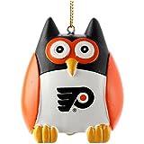 Memory Company NHL Philadelphia Flyers Owl Ornament, Multi, One Size