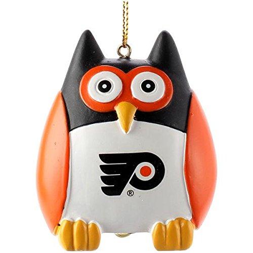 (Memory Company NHL Philadelphia Flyers NHL-Pfl-1804Owl Ornament, Multi, One Size)