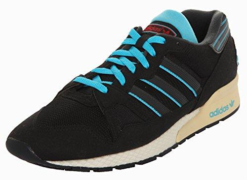 Adidas Mannen Sneakers Zx 710 Black1 / Carbon / Samblu D65783