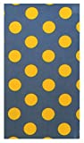 Office Product Yellow Polka Dot Cotton Guest Checks Presenter for Server, Check Book Holder for Restaurant, Check Book Pocket, Waitstaff Organizer, Server Book for Waiters (With Plastic Cover) 2