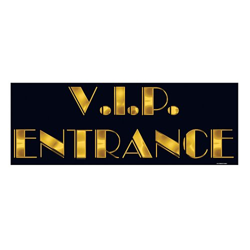 (VIP Entrance Sign Party Accessory (1)