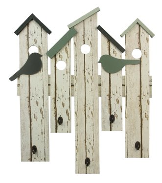 Wood Wall Bird House Hook