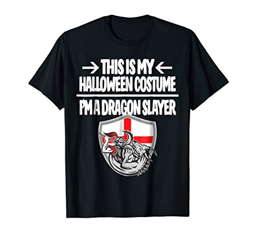 Dragon Slayer Halloween Costume T-Shirt This Is My Costume