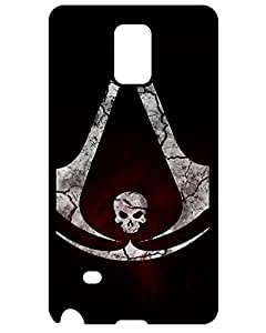7266360ZA480380804NOTE4 Discount New Arrival Assassin's Creed IV: Black Flag Assassin's Creed IV Case Cover Samsung Galaxy Note 4 Case Final Cut Game Case's Shop