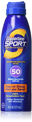 Coppertone Continuous Spray Sport Twin Pack