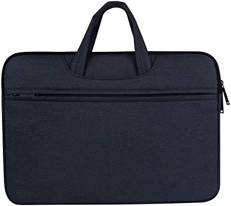 Compatible with Briefcase Tablet Case Black 17 Inch Aoligei Ac-Dc Polyester Waterproof Laptop Case