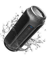 Zamkol ZK202 Bluetooth Speaker, Portable Wireless Speaker with 30W HD Sound, Outdoor Speaker with Bluetooth 5.0, Built-in Mic, IPX6 Waterproof, 12H Playtime, Enhanced Bass, Wireless Stereo Pairing
