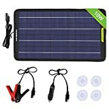 ECO-WORTHY 12 Volts 5 Watts 160W Portable Power Solar Panel (10W Portable Solar Panel)