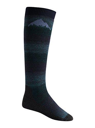 (Burton Men's Merino Emblem Socks, Mood Indigo, Medium)