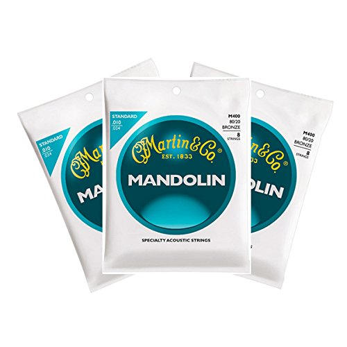 Martin M400 Mandolin Strings - Three Pack Martin & Co.