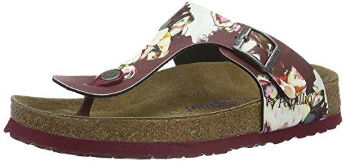 af6e389791 Birkenstock Women s Papillio Gizeh Birko-Flor Thong Sandal Soft Footbed (Painted  Bloom Red) Size 39 M EU - Buy Online in Oman.