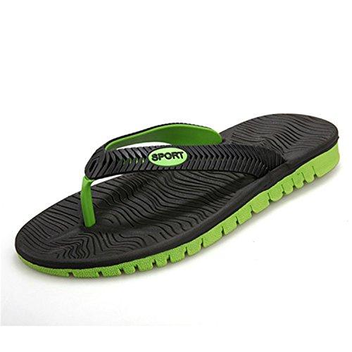 de Zapatillas de Playa Hombre de Botia Verde Playa de Verano Negro Zapatos Chanclas Zapatillas Playa cnWIcf8q