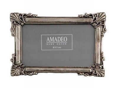 Art Nouveau Jugendstil Bilderrahmen Fotorahmen Oval Rahmen Gold Silber Antik NEU